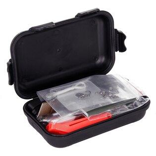 Sada KPZ 101INC® Combat Survival Kit vodotěsná - černá