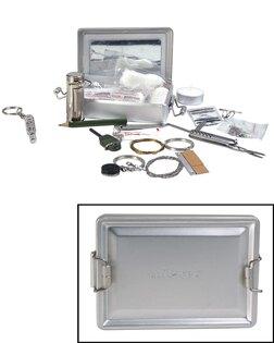 Sada na přežití KPZ ALUBOX Mil-Tec® - stříbrná