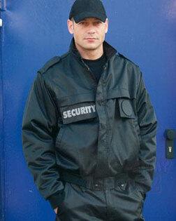 SECURITY bunda Mil-Tec® krátká