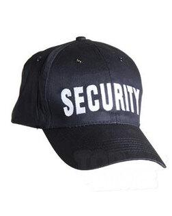 SECURITY kšiltovka Mil-Tec® - černá