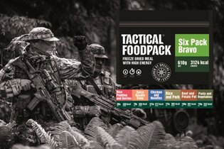 Set dehydrovaného jídla Tactical Foodpack® Tactical Six Pack Bravo