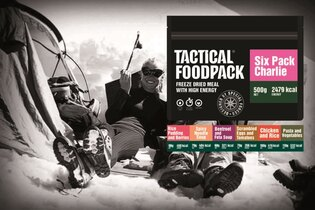 Set dehydrovaného jídla Tactical Foodpack® Tactical Six Pack Charlie