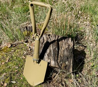 Skládací lopatka FOSCO® - coyote