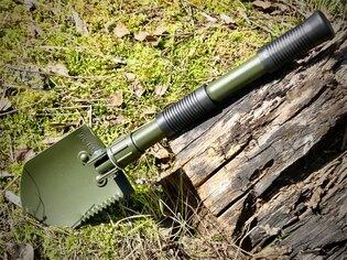 Skládací lopatka - rýč MINI s pouzdrem Mil-Tec® - oliv