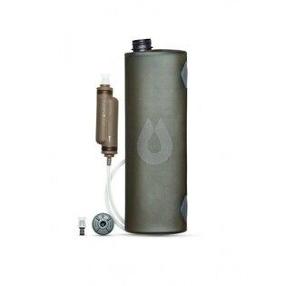 Skládací nádoba na vodu HydraPak® Trek Kit™ 3 l - mammoth grey