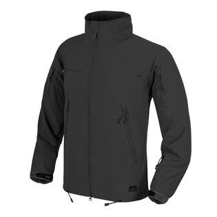 Softshellová bunda Helikon-Tex® Cougar® QSA™ + HID™ Windblocker - černá