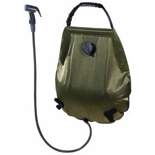 Solárna sprcha Deluxe MFH® 20 l - zelená