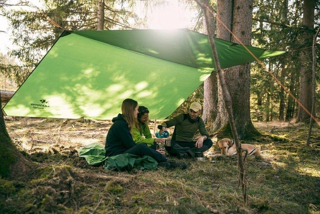 Stanový přístřešek - celta AMAZONAS® Traveller XXL - zelená