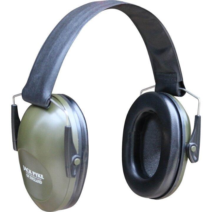 Střelecká sluchátka Defender Jack Pyke® - zelená