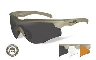 Střelecké brýle Wiley X® Rogue, úzké stranice