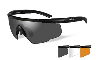 Střelecké brýle Wiley X® Saber Advanced, sada