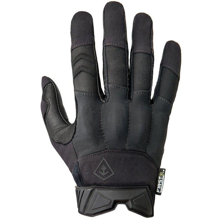 Střelecké rukavice First Tactical® Hard Knuckle - černé