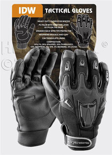 Střelecké taktické rukavice IDW Helikon-Tex® - černé  eed7f372ca