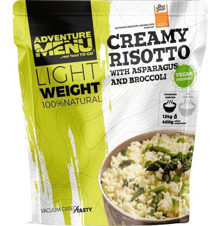 Sušené jídlo Krémové rizoto s chřestem a brokolicí Adventure Menu®