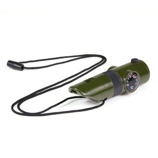 Taktická survival píšťaľka 101INC® 7 v 1 - olív