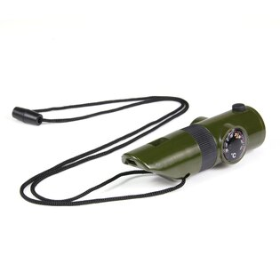 Taktická survival píšťalka 101INC® 7 v 1 - oliv