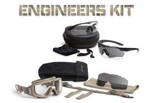 Taktické a střelecké brýle ESS® Pivot™ Engineer's sada