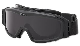 Taktické ochranné okuliare ESS® NVG ™ 3LS - čierne