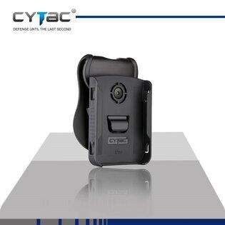Taktické puzdro na mobil Cytac® iPhone X - čierne