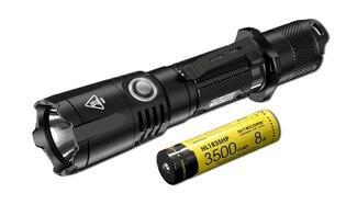 Taktické svietidlo MH25GTS Nitecore® - čierne