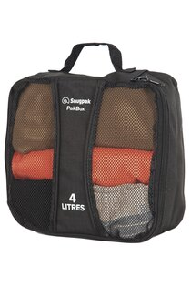 Taška - organizér do batohu PakBox Snugpak® 4 litry - černý