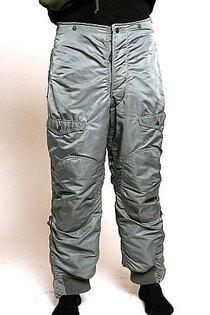 Teplé kalhoty originál US Army F-1B Air Force Heavy Zone ECW – zelené (sage green)