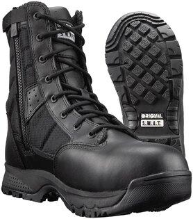 Topánky Metro Safety 9 '' EN ORIGINAL S.W.A.T.® so zipsom - čierne