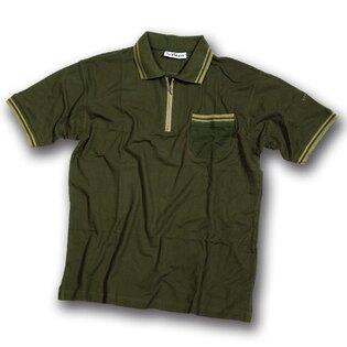 Tričko Patton Polo pique - tmavo zelená