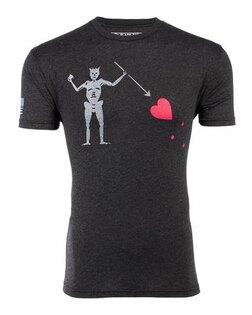 Triko BRCC® Blackbeard´s Flag T-shirt - černé