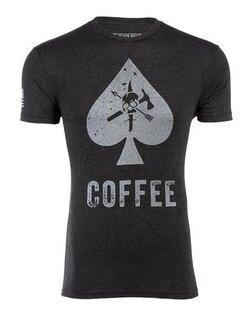 Triko BRCC® CAF Coffee Spade T-shirt - černé