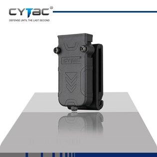 Univerzálne puzdro na zásobník s klipom na opasok Cytac® 9 mm, .40 a .45 - čierne