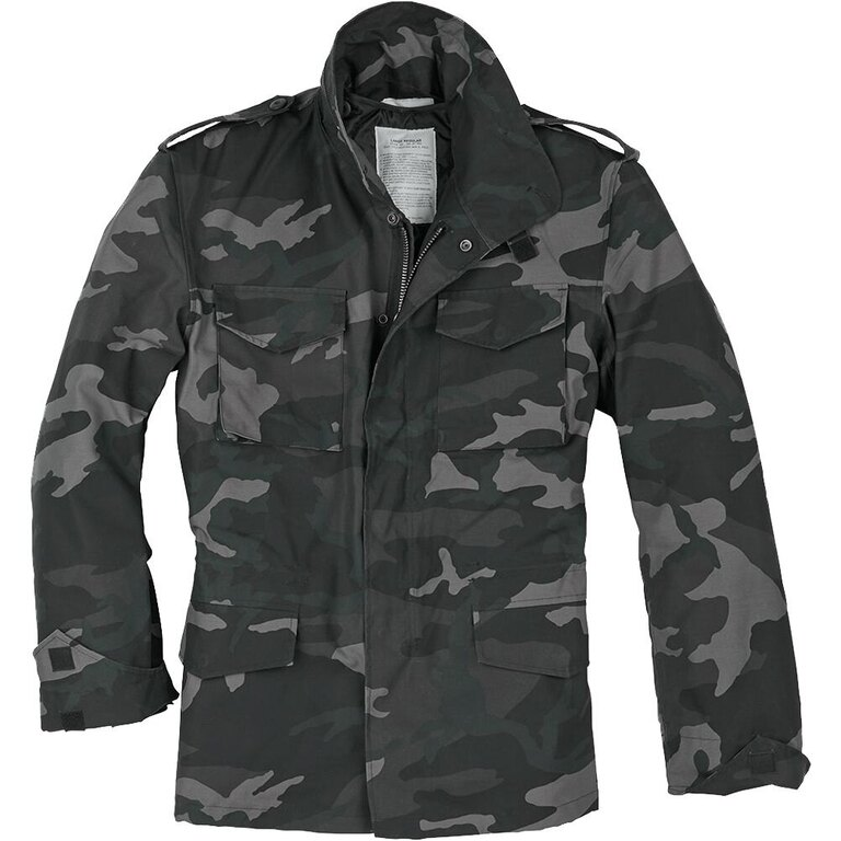 US parka - polní bunda SURPLUS® M65 - black camo