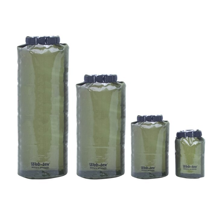 Vak voděodolný Web-Tex® 20 litrů - zelený