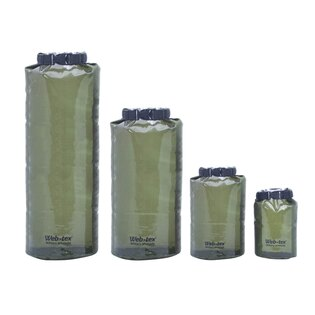 Vak voděodolný Web-Tex® 7,5 litrů - zelený