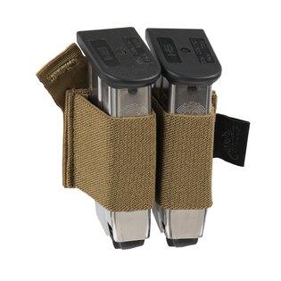 Velcro insert Helikon-Tex® Elastic na dva pistolové zásobníky - coyote