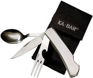 Viacúčelový nôž KA-BAR® Hobo 3-in-1 Utensil Kit