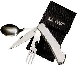 Víceúčelový nůž KA-BAR® Hobo 3-in-1 Utensil Kit