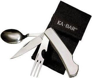 Víceúčelový nůž KA-BAR® Hobo 3-in-1 Utensil Kit