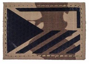 Vlajka ČR Combat Systems® rozlišovací AČR IR