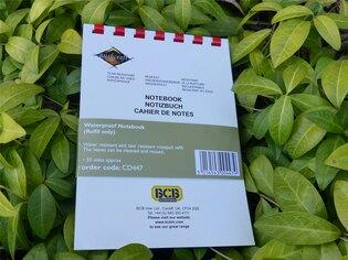 Voděodolný zápisník BCB® Refill
