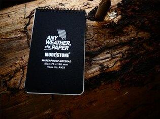 Voděodolný zápisník čtverečkovaný Handy Pad 76 mm x 130 mm Modestone®, 30 listů