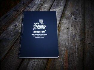 Voděodolný zápisník Side Spiral Notebook 210x148 Modestone®