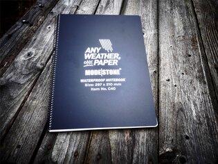 Voděodolný zápisník Side Spiral Notebook A4 297x210 Modestone®