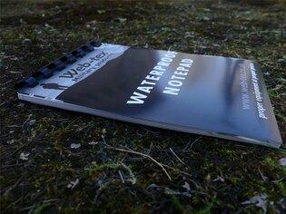 Voděodolný zápisník Warrior Web-Tex A6