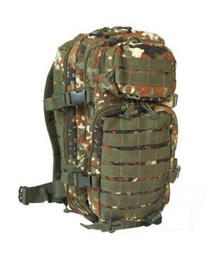Vojenský batoh US ASSAULT PACK small Mil-Tec® - flecktarn