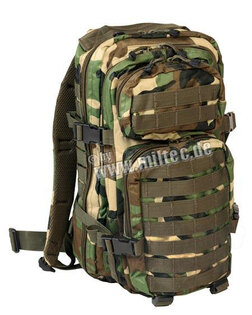 Vojenský batoh US ASSAULT PACK small Mil-Tec® - woodland