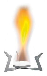 Vreckový varič na pevný lieh ESBIT® ST11.5-TI skladací, titánový