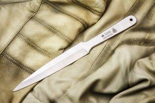 Vrhací nůž KIZLYAR SUPREME® Leader - stříbrný