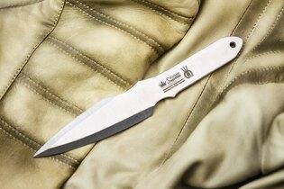 Vrhací nůž KIZLYAR SUPREME® Strij - stříbrný