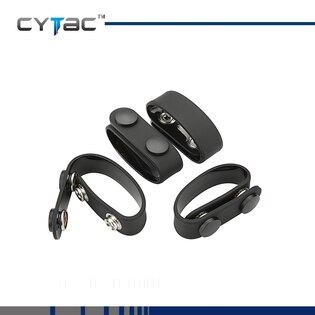 Zajišťovací spony Duty Gear na služební opasek Cytac® 4 kusy - černé
